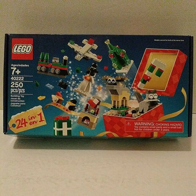 LEGO 40222 Exclusive 24 in 1 Holiday Countdown Complete NEW OB b9