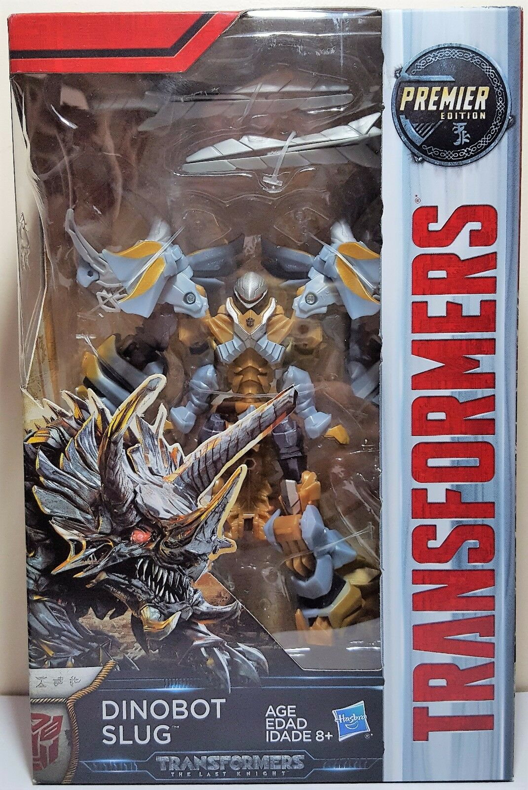 Transformers Dinobot Slug Deluxe Class The Last Knight Premier Edition