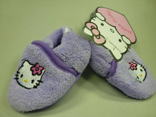 Sanrio Hello Kitty Baby Krabbel Schuhe Puschen Patschen lila 3-6 Mon NEU 62 68