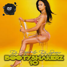 Bootyshakerz Music Video Mix DVD Vol.10 R&B House Dance