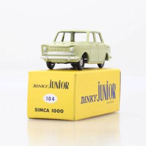 Dinky-Toys-104-Junior-SIMCA-1000-Vert-tilleul-1-43-Atlas-1083164