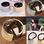 Chic Metal Circle Hair Ring Ponytail Holder Hair Cuff Band Headband Headwear