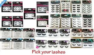 100-AUTHENTIC-Ardell-Fake-Eye-Lashes-Choose-from-Individual-Strip-Magnetic