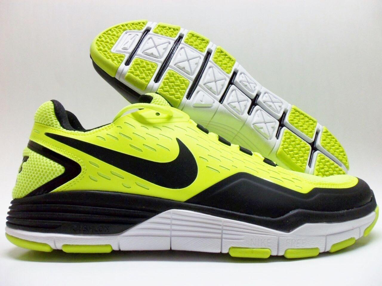 Nike libera scille tr trainer volt / nero-white dimensioni uomini 14 [454161-701]