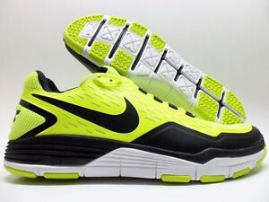 new concept 21e16 59301 Image is loading NIKE-FREE-XILLA-TR-TRAINER-VOLT-BLACK-WHITE-