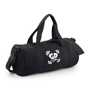 51ca3416f861ab Get Down Gymwear Branded Barrel Bag Bodybuilding Gym Sports Holdall ...