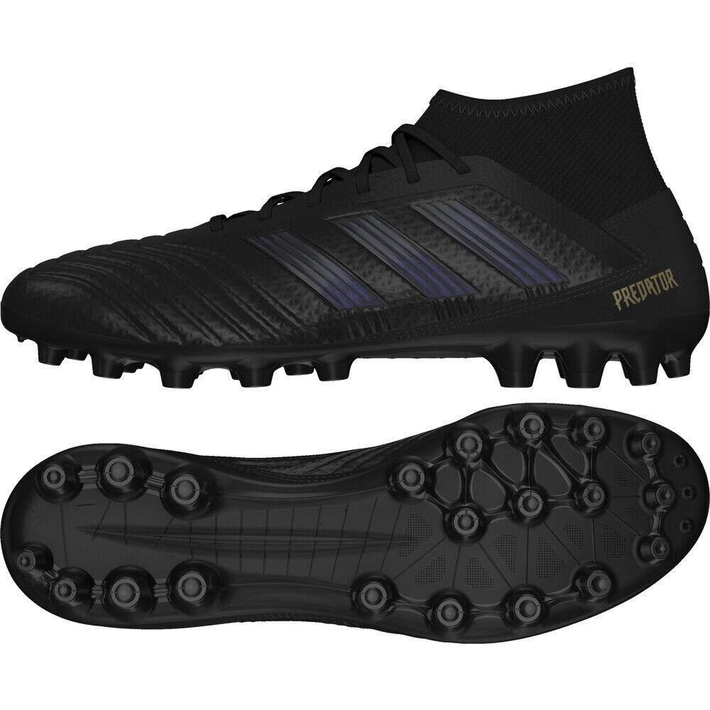 Adidas Protator 19.3 AG Kunstrasen Herren Fußballschuh EF8984 schwarz DARK SCRIP