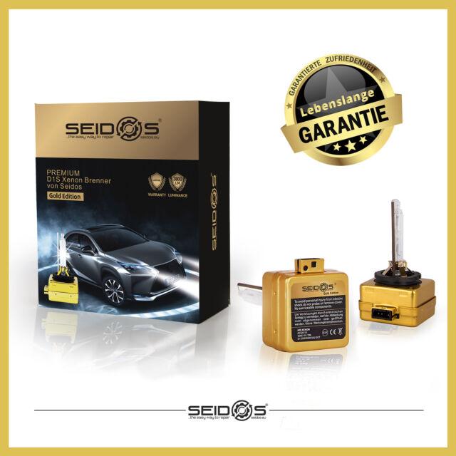 Duo-Set Seidos D1S 4300k Gold Edition Xenon Brenner Faro NEU3