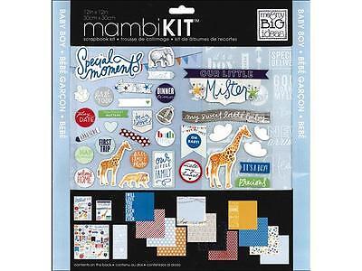 MAMBI Scrapbook Kit 12x12 Cool Baby Boy