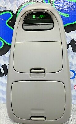 MOUNTAINEER TAN OVER HEAD CONSOLE WITH SUNROOF SWITCH ! 97-02 FORD EXPLORER