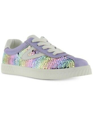 NEW Girls Tretorn Sneakers Camden Shine Sneakers Multi Color Sequin Shoes