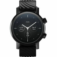 Deals on Moto 360 Smartwatch w/Wear OS M360FS19-PB