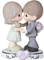 Wife Gift, 25th Anniversary,bisque Porcelain Figurine,couple Celebration Present on sale