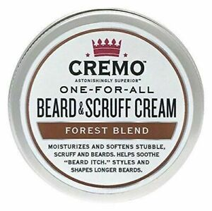 Cremo-One-for-All-Bart-amp-Scruff-Creme-Wald-BLEND-Duft-4-OZ