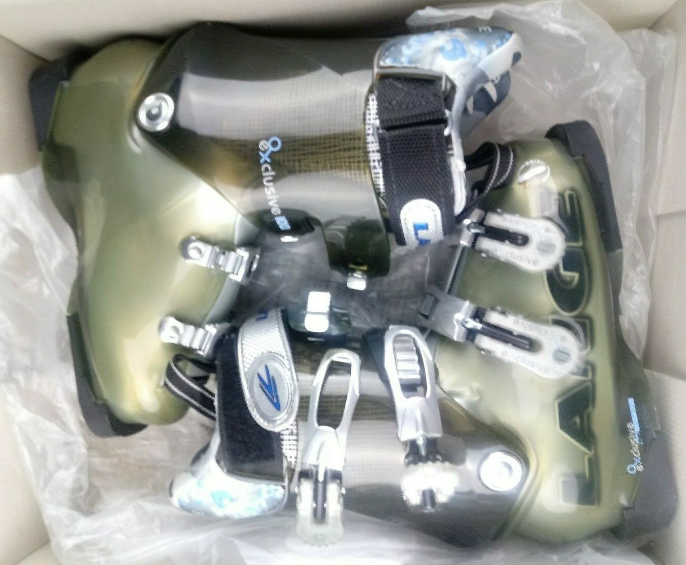 Lange Exclusive 100 Ski Boots 22.5 Downhill New In Box Women Outter Wear