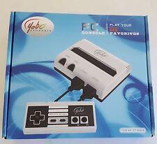 NEW Black & White Yobo Fc Video Game System to play NES 8 Bit Nintendo Games
