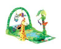Fisher-Price Rainforest Baby Musical development Activity Center Gym Play Mat