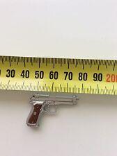 1/6 Hot Toys Biohazard Alber Wesker Pistol Silver