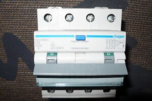 DISJONCTEUR DIFFERENTIEL TETRAPOLAIRE 16A 30mA TYPE A HAGER 16 AMPERE TRIPHASE+N