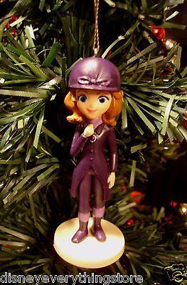 Disney Princess Sofia The First /& Princess Amber custom Christmas Ornaments