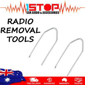 2-x-RADIO-REMOVAL-TOOLS-for-FORD-FALCON-AU-Series-1-2-3-car-stereo-keys-pins
