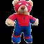 8-10-inch-25cm-TEDDY-CLOTHES-TUXEDO-SUPERBEAR-KARATE-PJ-SUPERBEAR-DINO-HOODIE thumbnail 9