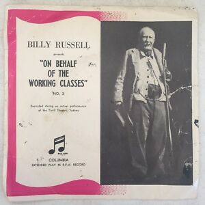 Billy-Russell-034-On-Behalf-of-the-Working-Classes-034-45rpm-EP-Live-at-Tivoli-Sydney