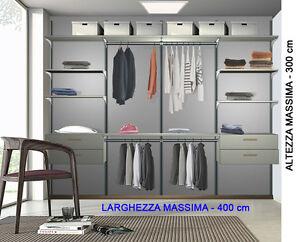 Tubi Per Cabina Armadio : Cabina armadio su misura con ripiani e tubi.guardaroba.closet.camera
