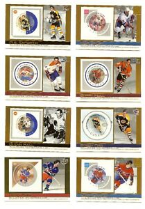 2003-04-PACIFIC-CANADA-POST-NHL-ALL-STAR-HOCKEY-CARDS-STAMPS-ORR-ESPOSITO-HORTON