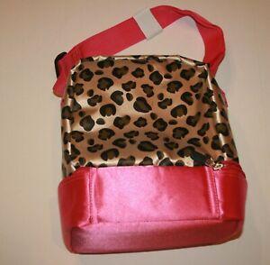 Lunch Box Cheetah Leopard Print Pink