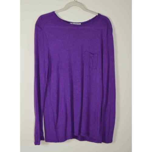 Alexander Wang T Violet Long Sleeve T Shirt Large - image 1