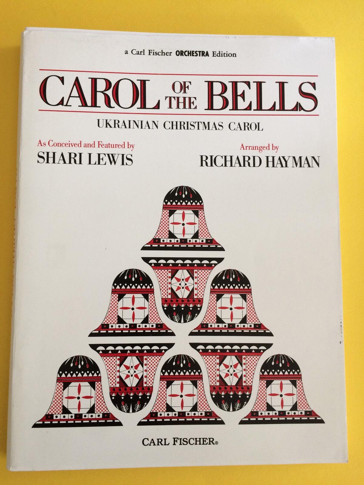 Carol Of The Bells, arr. Richard Hayman, Full Orchestra