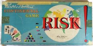 1959-Parker-Brothers-Inc-Risk-Continental-Game-Family-Board-Game-Vintage-IOB