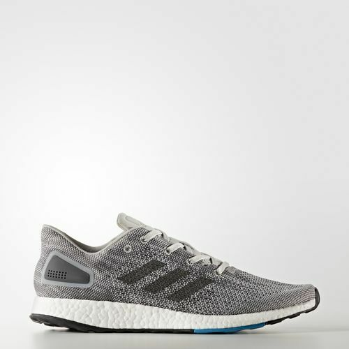 Mens Adidas Pureboost DPR grau Weiß Blau S82010 Größe  UK 10.5 Last Pair