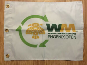 Waste-Management-Phoenix-Open-Screen-Printed-Pin-Flag-PGA-Tour-Souvenir-Fowler