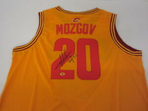separation shoes 9d1a3 72b1c Details about Timofey Mosgov Signed Cleveland Cavaliers Jersey / NBA  Champion (2016) / COA