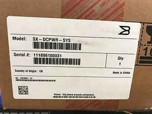 FAC-SEALED-Brocade-SX-DCPWR-SYS-1200w-Power-supply