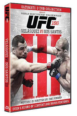 NEW & Sealed UFC 166 DVD - Velasquez vs. Dos Santos 3 DVD (2 Discs ...