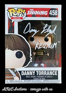 Funko POP! - The Shining - Danny Torrance - Signed by Danny Lloyd - JSA Cert.