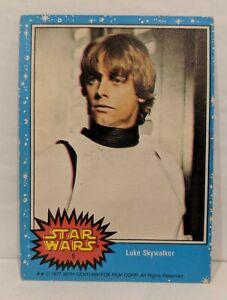 Star-Wars-034-Luke-Skywalker-034-1-Topps-Trading-Card-Series-1