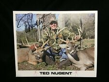 Vintage & Collectibles Ted Nugent Martin Archery Poster Hunting Bow Promo Advertisement Gonzo Signed Ad A Great Variety Of Models Rock & Pop