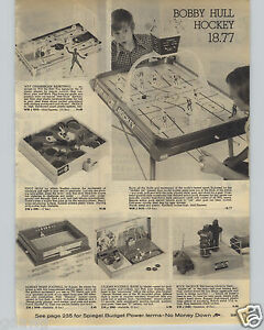 1973-PAPER-AD-Bobby-Hull-Hockey-Wilt-Chamberlain-Basketball-Monday-Night