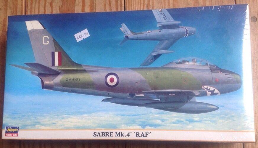 Hasegawa Sabre Mk.4 RAF 1 48 09567 Nya försegling Sällsynt