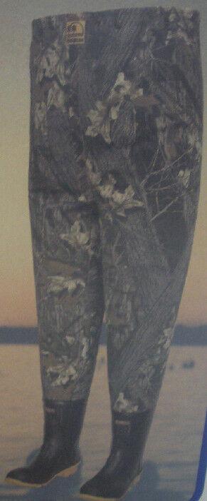 Camuflaje de lona aislante Hodgman 13418-8 Pecho Wader tamaño 8 18328