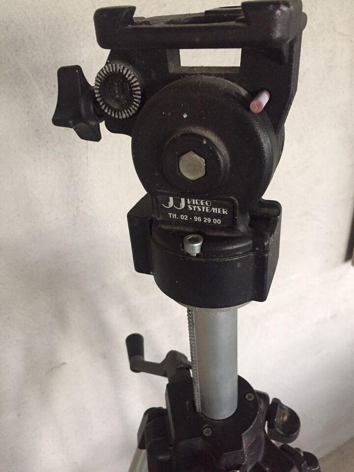 Video/foto kamera stativ, JJ videosystemer, Perfekt