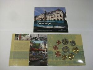 COFFRET BU LUXEMBOURG 2014 1 CENT A 2 EURO + 2 EURO CC KMS LUXEMBURGO SERIE SET