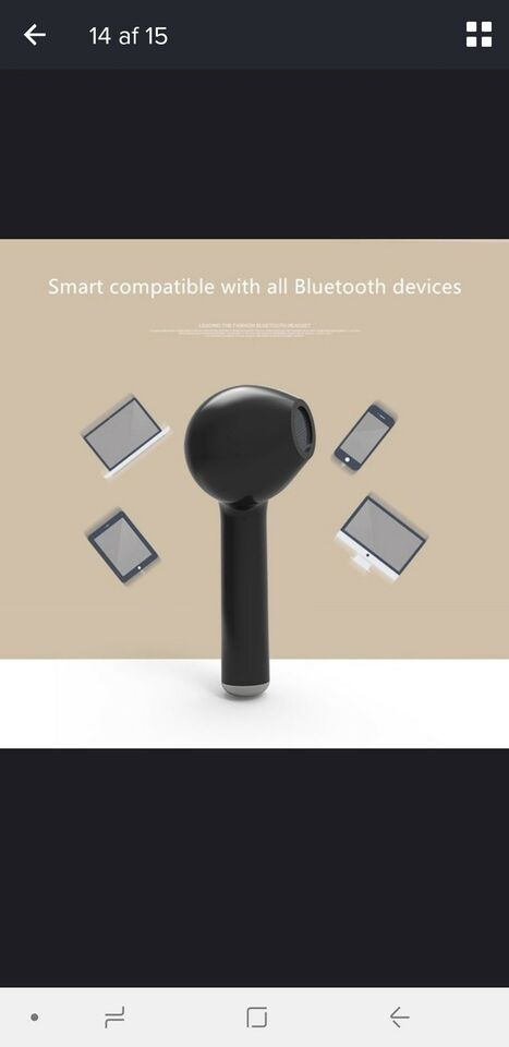 Bluetooth headset, t. Samsung, Perfekt
