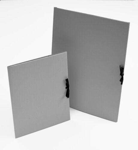 Portfolio Folder with Tie Closure Teloman Grey Card Folio Choose A2 or A3