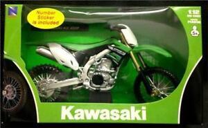 New-ray-1-12-kawasaki-kxf-450-die-cast-jouet-modele-2012-motocross-vert