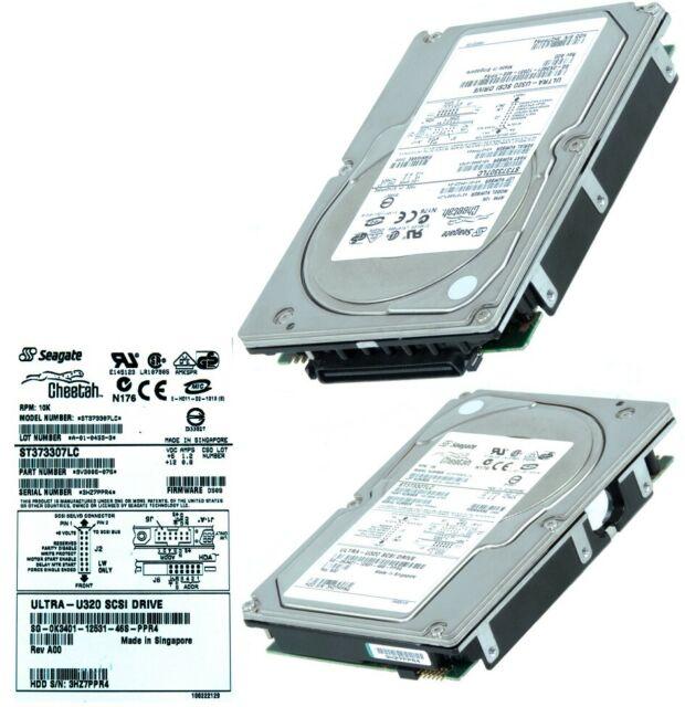 """Dell 3.5/"""" 300GB Hard Drive U320 SCSI 10K HC492 ST3300007LC 9X1006-141"""